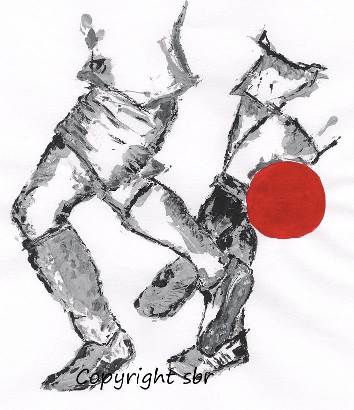 Buchcover Illustration Fußball