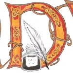 Keltische Initiale D