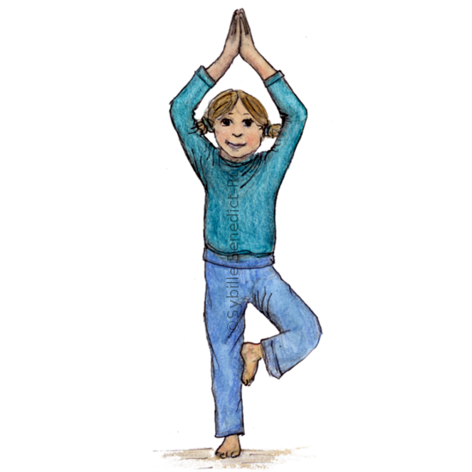 Yogakids – Der Baum