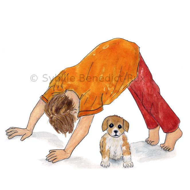 Yogakids – Der herabschauende Hund