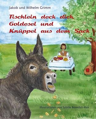 Cover Märchenbuch für Tischlein Deck Dich