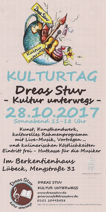 Kulturtag Am 28.10.17 In Lübeck
